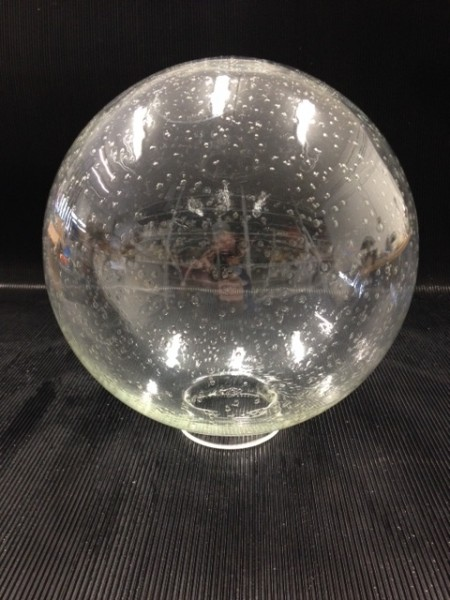 G 792 Clear bubbled glass