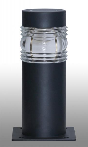 Pollerleuchte O10 Aluminium 40cm.